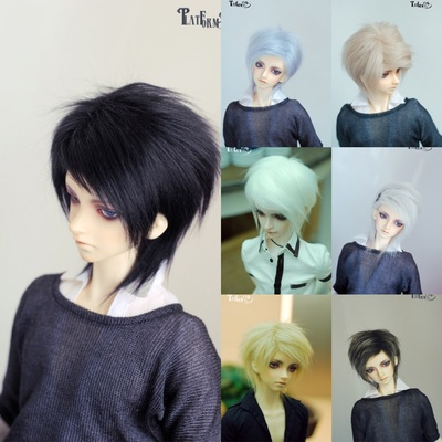 taobao agent Uncle Luo's bjd hairy wig 3 points uncle small head circumference non-elastic hair net four tops thick and dense