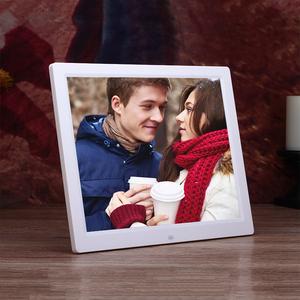 Pin Lithium khung ảnh kỹ thuật số màn hình tích cực HD âm nhạc LED điện tử album quảng cáo phim mỏng hẹp side player ngày âm lịch