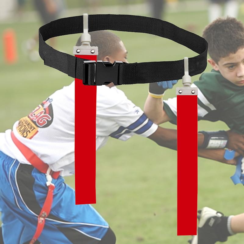 Bóng đá mỹ cờ cờ không khí khóa áp lực tiêu cực cao su silicone kéo khóa vải touchdown trẻ em người lớn đào tạo cạnh tranh