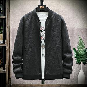 2020秋季男装夹克上衣新款休闲外套韩版时尚立领男绅士春秋棒球服