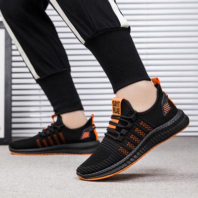 夏季男鞋韩版椰子鞋透气网布跑步鞋子