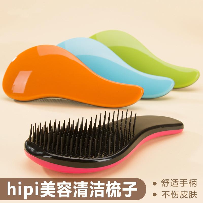 New pet comb dog bàn chải tóc nhựa massage kim comb mèo Teddy pháp luật để đi chải tóc vẻ đẹp sạch nguồn cung cấp