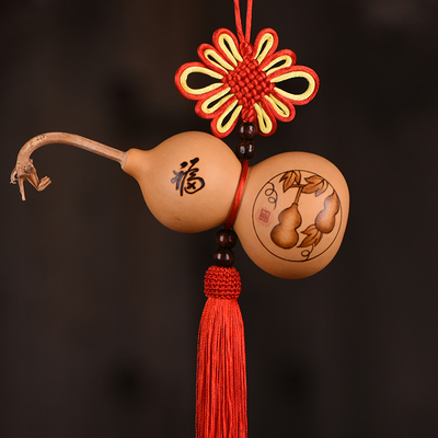 taobao agent Natural small gourd pendant China Jiefeng Shui Town House Lucky ward off evil and safe living room bedroom large pendant