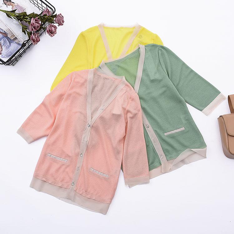 [Bắp cải] F ¥ 14 2018 mùa hè sản phẩm mới lỏng rắn màu nhỏ tươi tính đơn ngực đan áo nịt