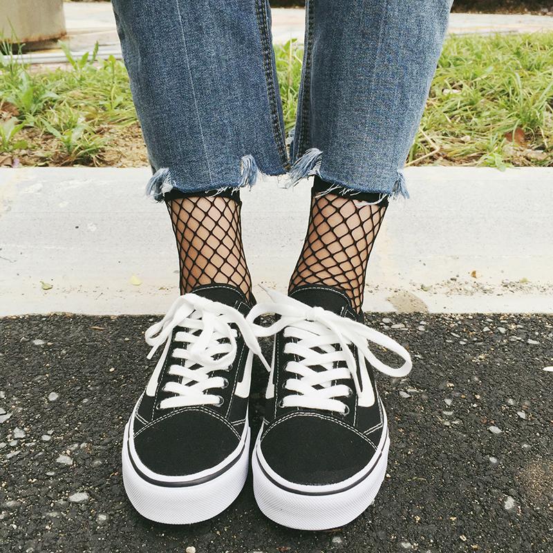 Giày vải nữ mùa hè Hàn Quốc phiên bản của mùa hè Harajuku hoang dã phẳng thấp để giúp vài giày vải sinh viên với giày trượt phụ nữ