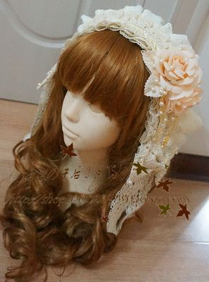 42agent [缨缨の下午2:15] Special! Flowers * Weifeng lolita hair band - Taobao