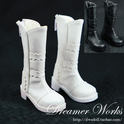taobao agent 【DWS】SD/BJD 4 points 3 points doll shoes/baby shoes women's mid-boots 1/4 1/3