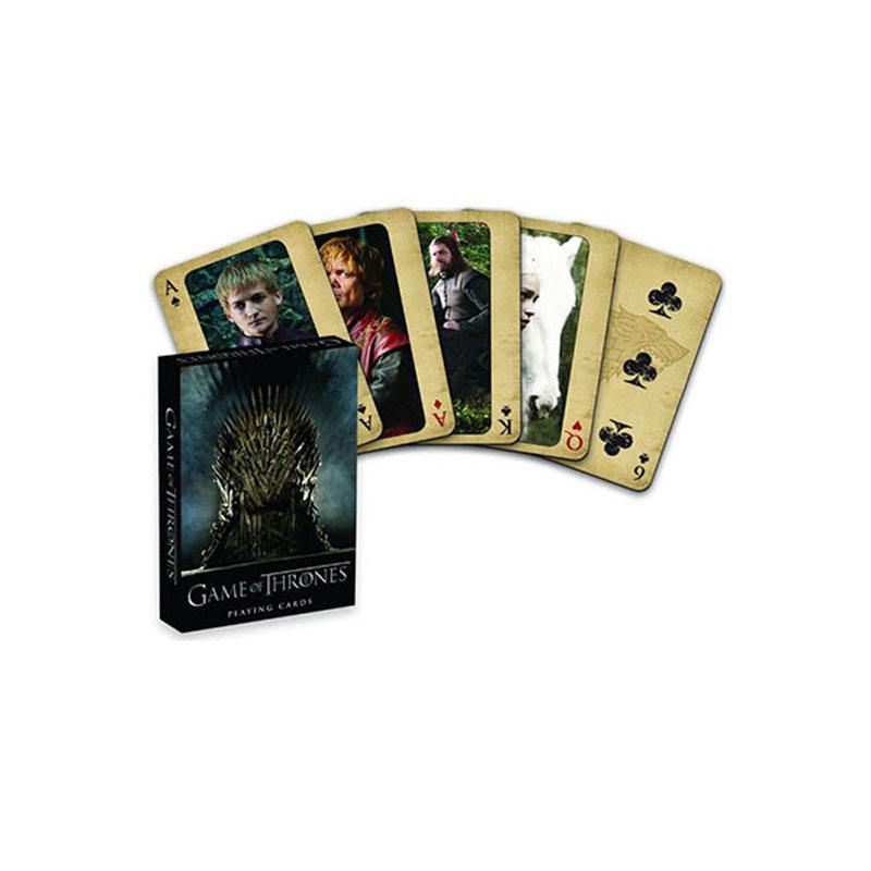 官方版冰与火之歌权力的游戏影视周边 权利的游戏扑克牌 现货