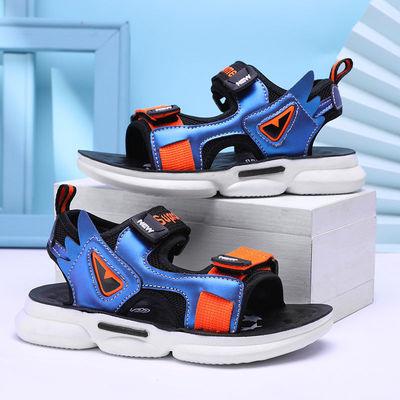 男童凉鞋2021新款中大童防滑软底沙滩鞋夏季小学生儿童男孩子凉鞋