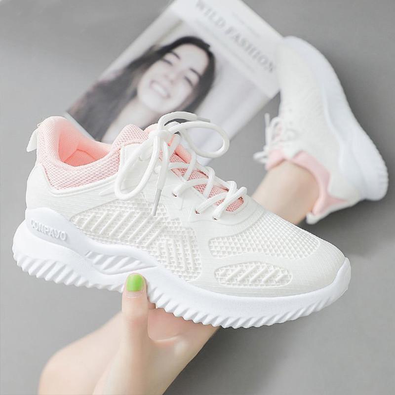 女士春夏季飞织鞋休闲鞋小白鞋运动鞋女鞋