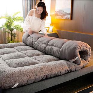 水晶绒床裙单件床罩夹棉加厚保暖床套