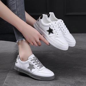 女单鞋夏季小白鞋女学生韩版百搭平底新款网红原宿风运动鞋女板鞋
