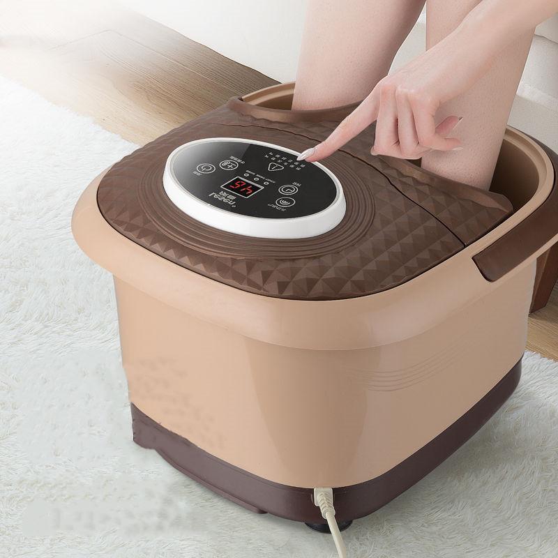 全自动恒温泡脚桶电动足疗机按摩足浴器