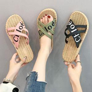 新款拖鞋女夏外穿时尚百搭韩版ins网红熊底沙滩时尚女拖鞋