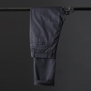 Nội các sản xuất quần âu nam màu rắn kinh doanh bình thường đơn giản đi lại dụng cụ thường xuyên quần dài quần nam - Quần Harem