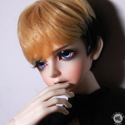 taobao agent Lazy baby bjd wig 6 4 3 points uncle sd doll male baby daily service all-match short hair-color matching male god hair-