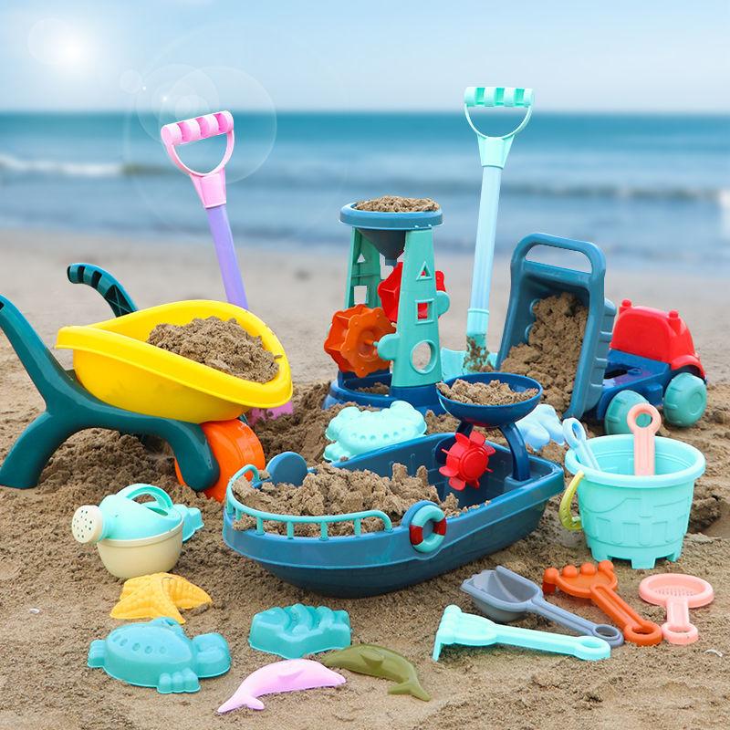 儿童软胶沙滩玩具套装