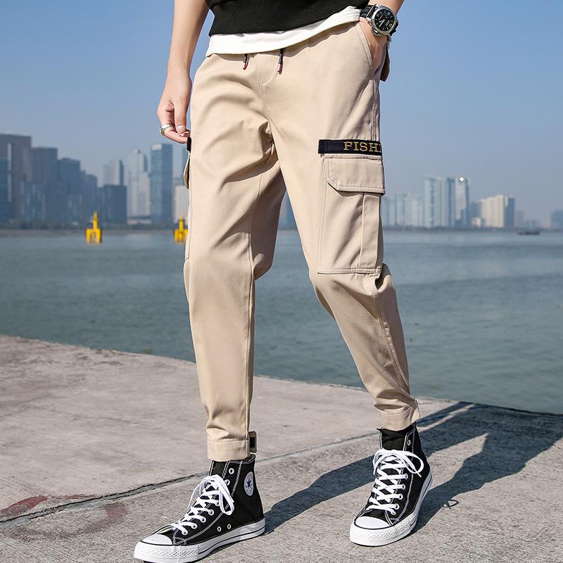 夏季休闲裤青少年工装型休闲裤