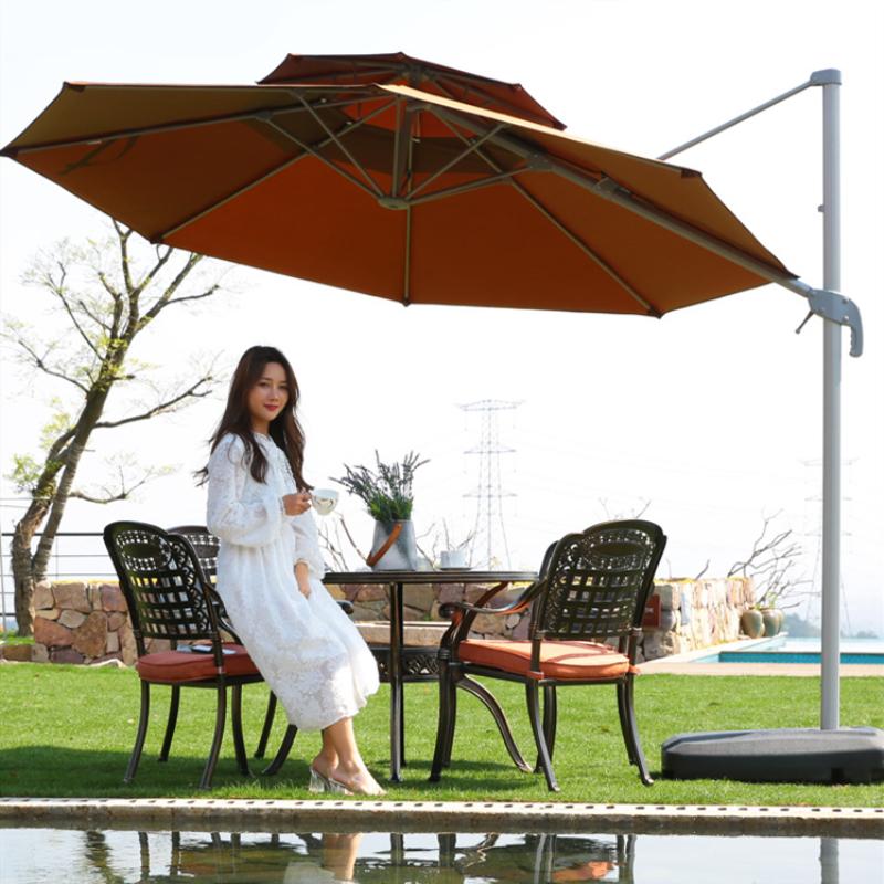 户外遮阳伞大型别墅花园庭院伞