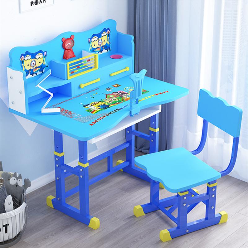 儿童书桌简约家用学生课桌椅组合小孩子学习桌写字桌椅套装