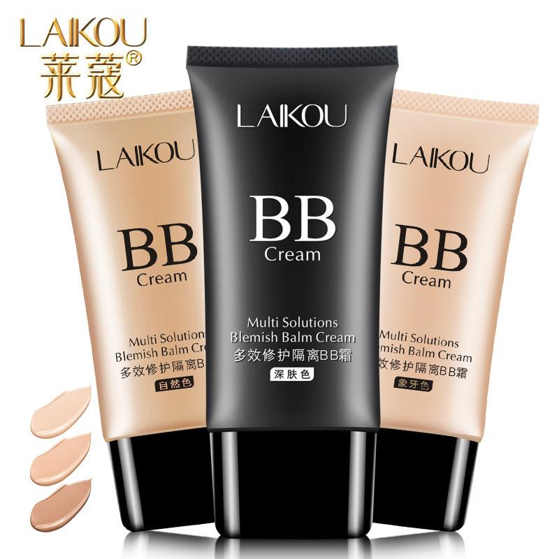 Đích thực Laiwu BB cream nude trang điểm che khuyết điểm giữ ẩm mạnh mẽ kiểm soát dầu trang điểm không loại bỏ trang điểm mỹ phẩm bị cô lập sinh viên nền tảng chất lỏng