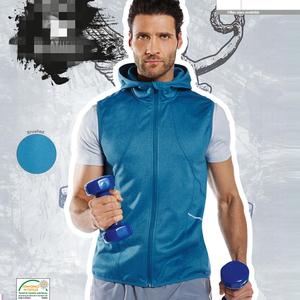 Xuất khẩu Châu Âu crivit thương hiệu của nam giới thể thao chạy thường trùm đầu chất lượng vest vest đặc biệt cung cấp
