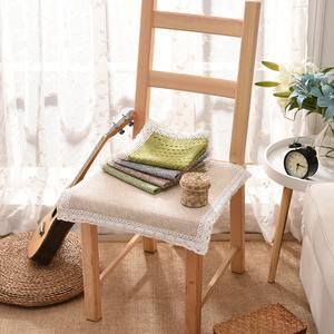 Sofa đệm bốn mùa phổ bông và vải lanh ghế đệm mùa hè thoáng khí không trượt ghế đệm phân đệm ghế văn phòng đệm