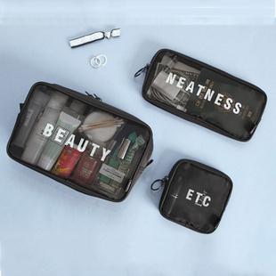 韩国化妆包旅行洗漱包大容量手拿包