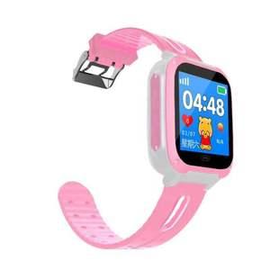 【双冠移动合约机】男女孩小学生儿童电话手表防水学生手机定位