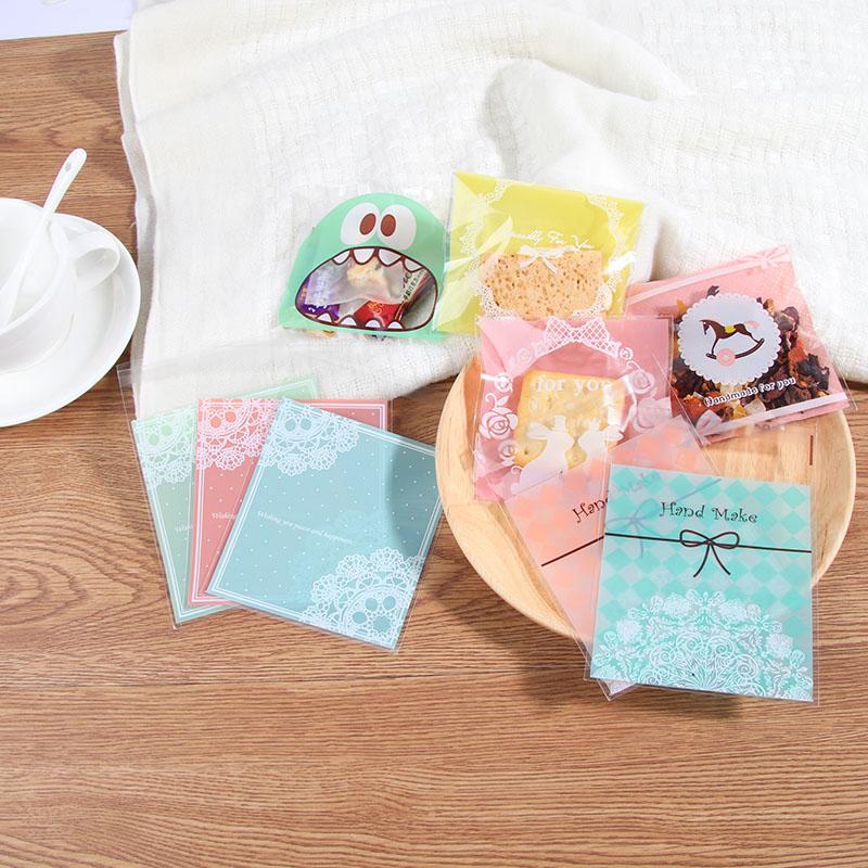 食品级烘焙包装饼干袋月饼曲奇袋点心食品包装袋糖果点心袋100枚