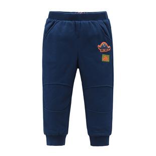 派克兰帝男童儿童小童夹棉长裤