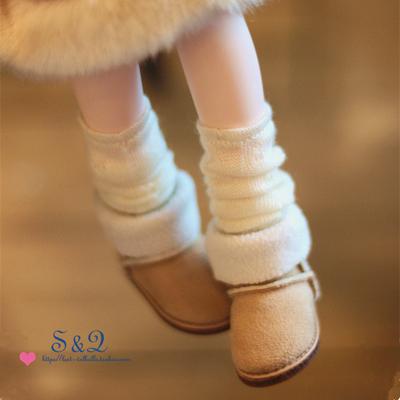 taobao agent Flanging snow boots BJD YOSD LATI Giant Baby MDD 6 points 8 points 4 points 3 points SD IMDA3.0
