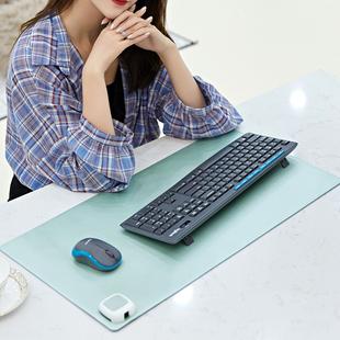加热电脑鼠标垫超大发热桌面写字保暖桌垫