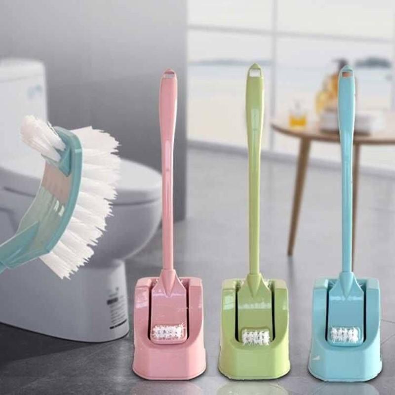 卫生间无死角马桶刷套装清洁刷长柄塑料洁厕