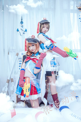 taobao agent Special spot lovelive navy awakening full Cos clothing with shoe covers 2 sets of free shipping love liv