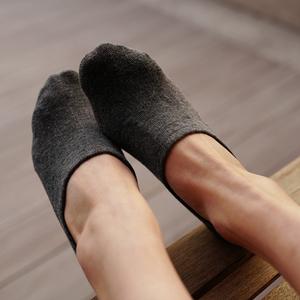 Không trượt vô hình vớ bông thể thao nông vớ mùa hè đậu Hà Lan giày vớ rắn màu người đàn ông vớ vớ của phụ nữ