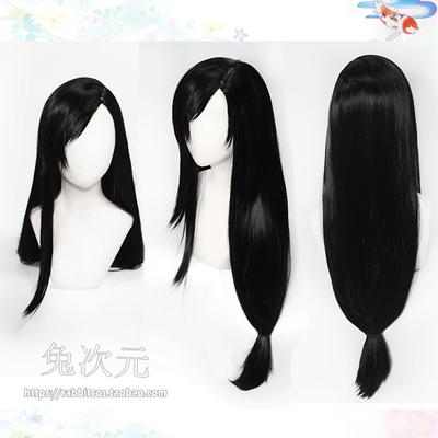 taobao agent Tifa cosplay wig FF7 reset Tifa Lockhart wig big scalp bangs