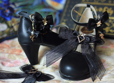 taobao agent 【Fairydream spot】National brand lolita Rolylily poker shoes high-heel pearly elegant single shoes