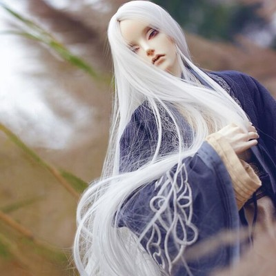 taobao agent DK Qisu official with BJD/SD doll costume clothes Uncle specification Hanfu antique costume six-piece suit + wig