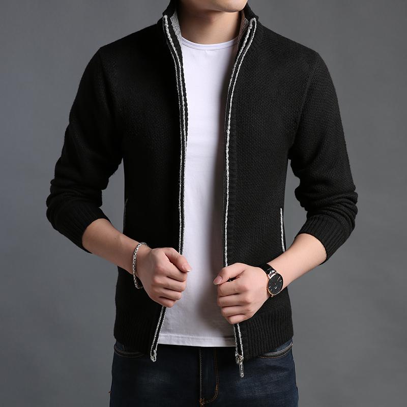 毛衣男休闲青年夹克针织衫开衫
