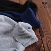 秋冬季男士高领羊绒针织衫