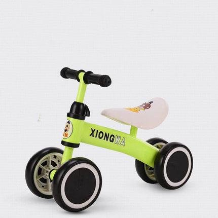 儿童滑行车平衡车无脚踏溜溜车1-2-3岁宝宝学步四轮扭扭车包邮