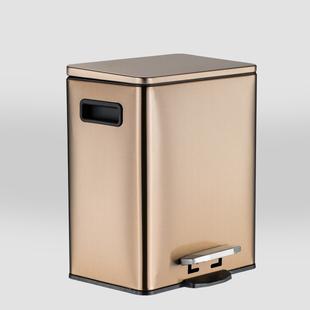 e桶江湖厨房垃圾桶家用大号脚踏不锈钢