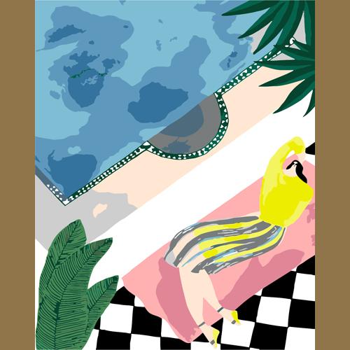 Солнечная ванна L0170(Раскраска покупателя