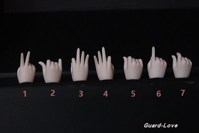 taobao agent 【Kaka】BJD/SD doll Guard-Love gl dl BJD 1/4 2 generation body universal hand type