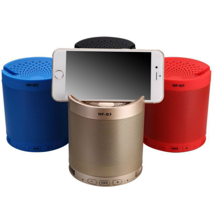 3 27 Hf Q3 Wireless Bluetooth Speaker Super Large Subwoofer New Product Mini Sound Can Be Used As Mobile Phone Bracket From Best Taobao Agent Taobao International International Ecommerce Newbecca Com