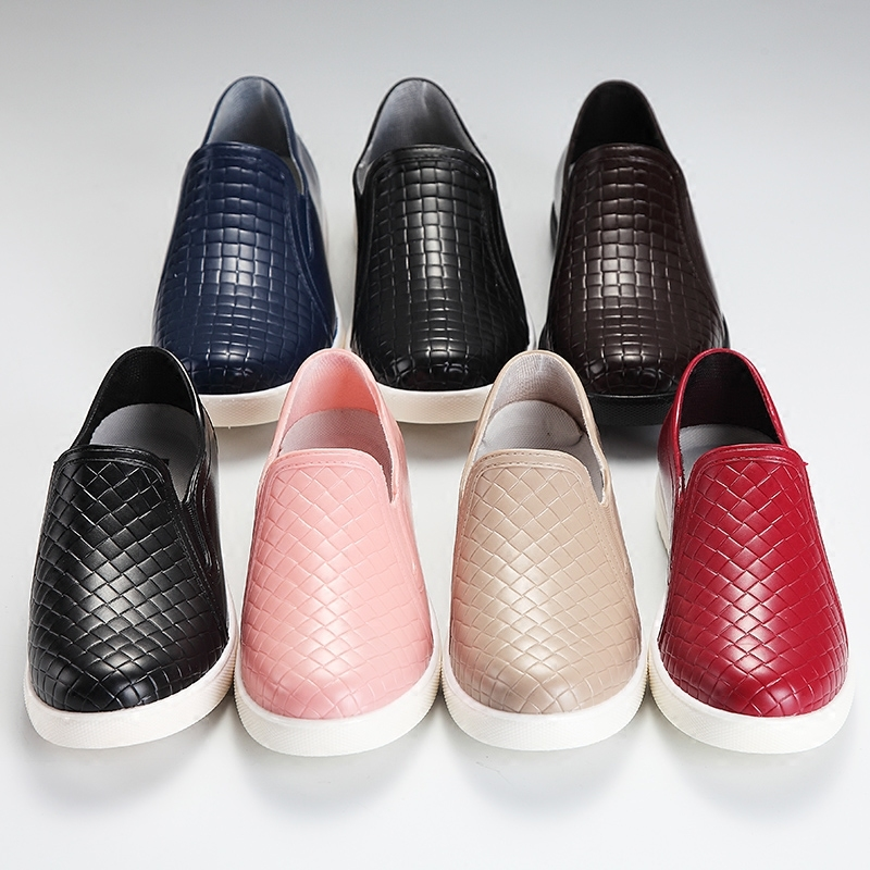 雨鞋时尚男女防滑短筒水浅