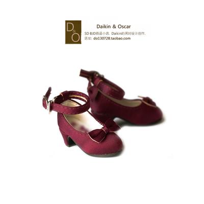 taobao agent DO spot bjd4 points 6 points baby shoes msd mdd yosd imda3.0 bear sister luts mk retro high heels