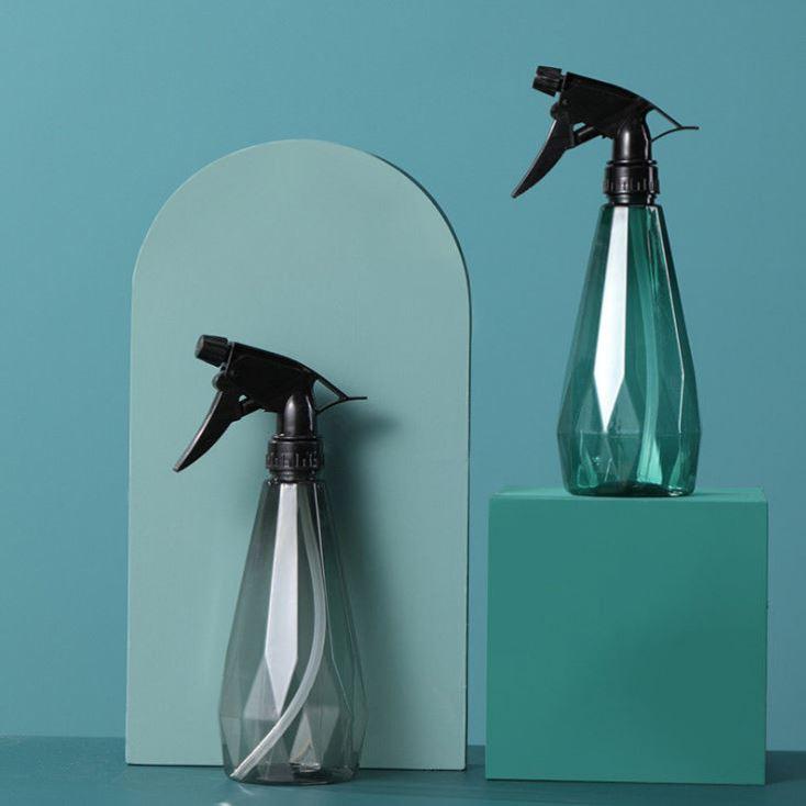 园艺浇花高压喷壶透明便携气压小喷壶