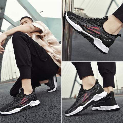 男鞋春季运动鞋2020新款冬季鞋子保暖男士加绒跑步潮鞋百搭休闲鞋